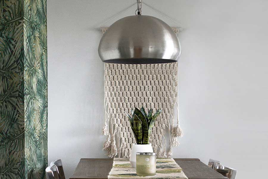 How to make a DIY woven wall hanging